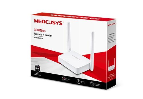 Imagem 1 de 8 de Roteador Wireless Mercusys 300mbps - Mw301r - Branco