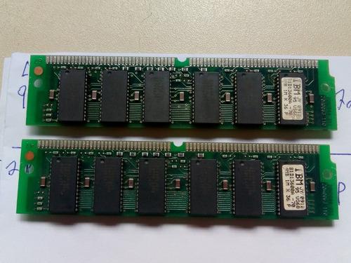 2 Memoria Ram Ibm  4mb Cada, Antigas , 72 Vias Funcionando