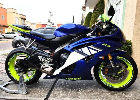 Yamaha R6r Azul/verde