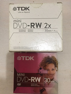 Mini Dvd Rw Tdk