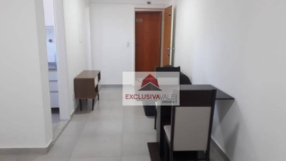 Flat Com 1 Dormitório Para Alugar, 34 M² Por R$ 1.000/mês - Jardim São Dimas - São José Dos Campos/sp - Fl0026