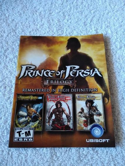 Manual Do Game Prince Of Persia Trilogy Ps3 *** Leia