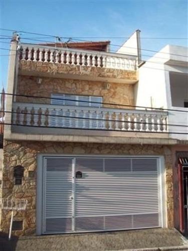 Imagem 1 de 13 de Sobrado, 3 Dormitório Sendo 1 Suite , 2 Banheiros, 2 Garagens, 204,00m² - V1000 - 2810049