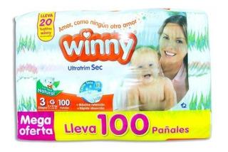 Pañales Winny Etapa 3 Por 100 Unid - Unidad a $669