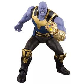 Figure Thanos Boneco Marvel Vingadores Thor Hulk Aranha