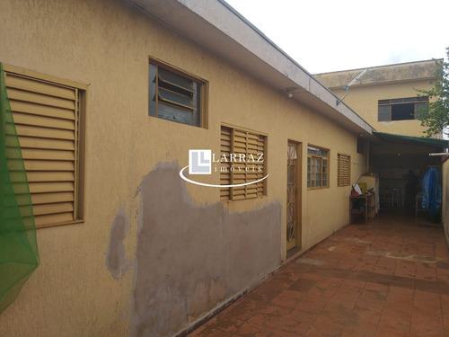 Imagem 1 de 15 de Casa Para Venda Na Vila Tibério, 3 Dormitórios, 2 Banheiros, Na Parte Superior Área Livre. - Ca01557 - 68830921