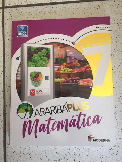 Livro Matemática 7 Projeto Arariba Plus Bncc Novo