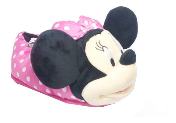 Pantuflas Addnice Licencia Disney De Minnie Del 32 Al 39