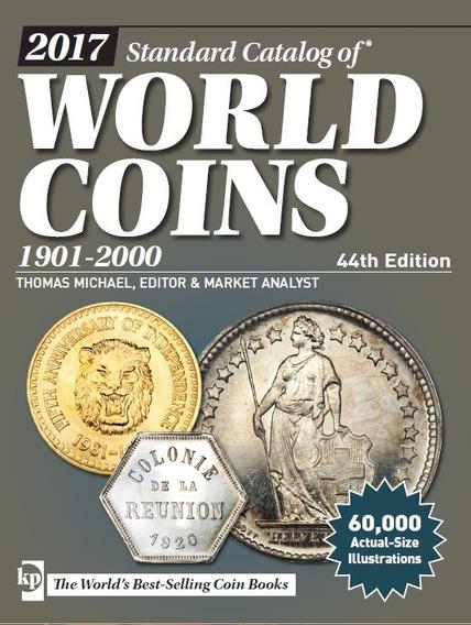 Catalogo De Monedas World Coins 1901-2000 44th Edition
