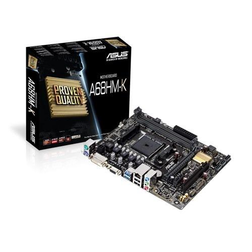 Placa-mae Asus Amd Socket Fm2+ A68hm-k Ddr3