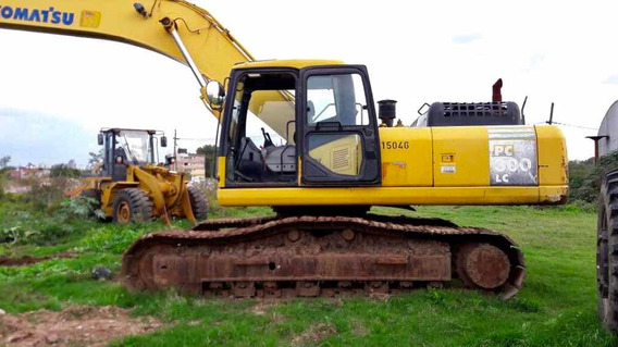 Excavadora Komatsu Pc 300 2007 M/buena 12 Cheq De U$s 8.500