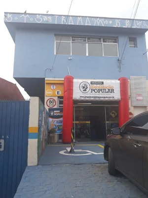 Salão Comercial Na Avenida Maria Luiza Americano - Sl0384