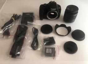 Câmera Canon Rebel T3 + Lente 18-55 Frete Grátis 12x S/juros