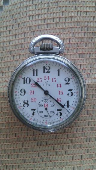 Reloj Elgin Ferrocarrilero