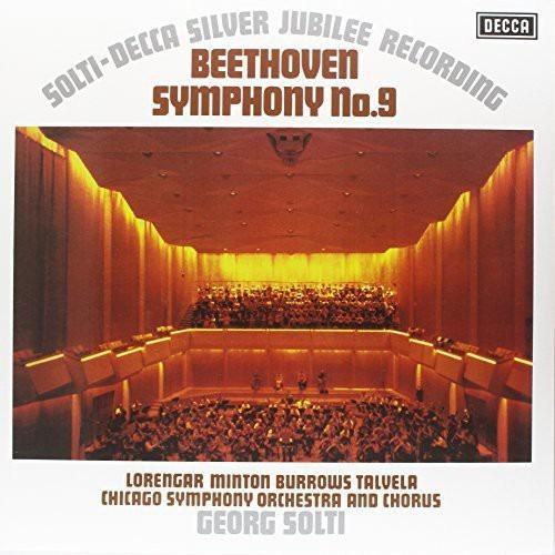 Sir Georg Solti Symphony 9 Vinilo Lp Us Import