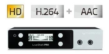 Transmissão Online Liveshellpro Modem 3/4g