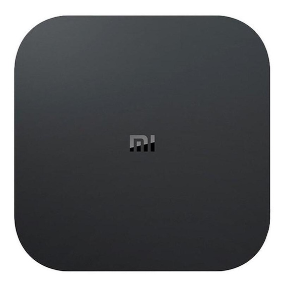 Streaming media player Xiaomi Mi Box S de voz 8GB preto com memória RAM de 2GB