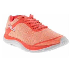 Tênis Fila Twisting 51j499x Running - Laranja