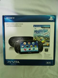 Ps Vita Edicion Limitada Latinoamerica Con 3 Juegos
