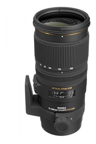 Lente Sigma Apo 70-200mm F2.8 Ex Dg Os Hsm Para Canon