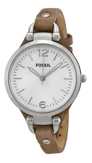 Relógio Feminino Fossil Georgia Es3060 Ladies Original