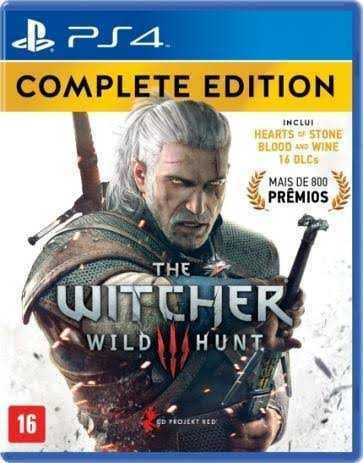 Combo Jogos Digital 1 Ps4 (the Witcher 3, Mad Max, Horizon..