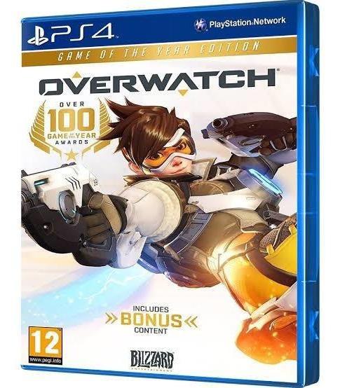 Overwatch Edição Game Do Ano.