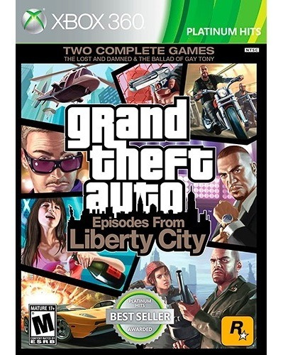 ..:: Grand Theft Auto Episodes Of Liberty City ::.. Xbox One