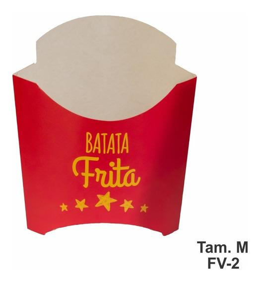 300 Caixinhas Caixa P/ Batata Batatinha Fritas Tam/médio