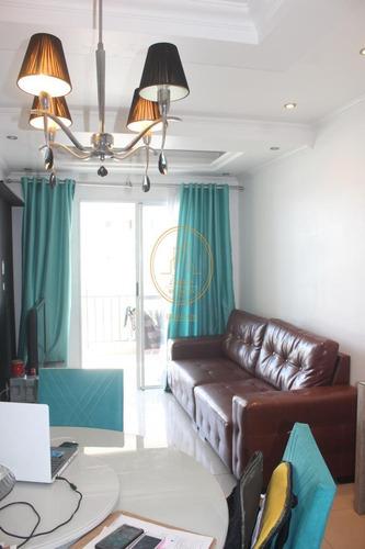 Apartamento  Com 3 Dormitório(s) Localizado(a) No Bairro Areia Branca Em Santos / Santos  - 6884