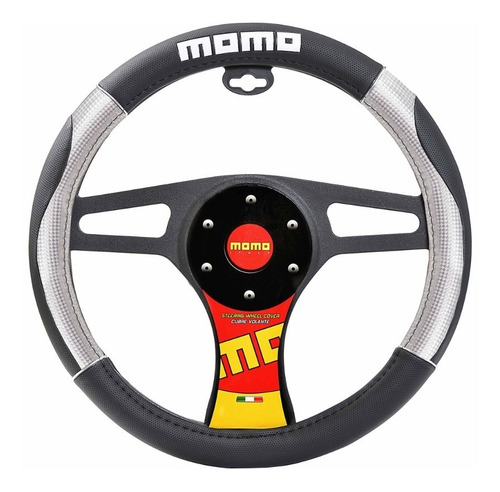 Cubre Volante Momo 09 - Plata - Ussw9csb