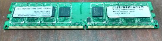 Memoria Ram Ddr2 512 Mb 667 Mhz