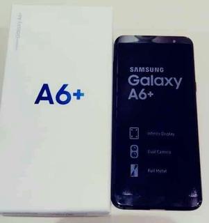 Samsung Galaxy A6 Plus. 64 Gb Liberado Negro.
