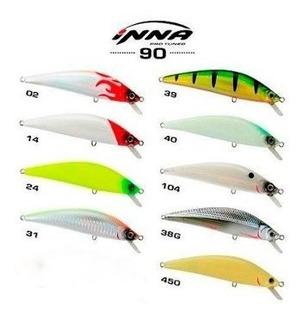 Kit De 5 Iscas Inna 90 Pro Marine Sports - Escolha As Cores