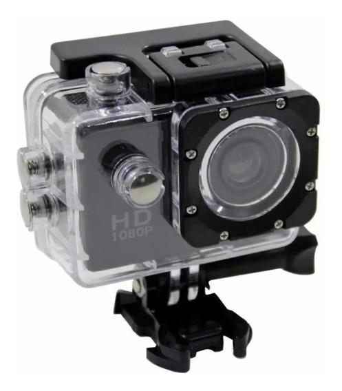 Filmadora Pro Hd Sports Youtuber Vídeo Câmera Moto Blogueira