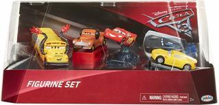 Set Figuras Coleccionables X5 Cars 3 Disney Pixar