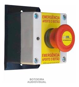 Botoeira Audiovisual Avulsa P/ Alarme Pne Ref: Com Fio Plus