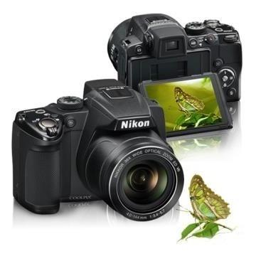 Nikon P500 36x Zoom Fullhd + 8gb = P510 P520 P530 Sony Canon