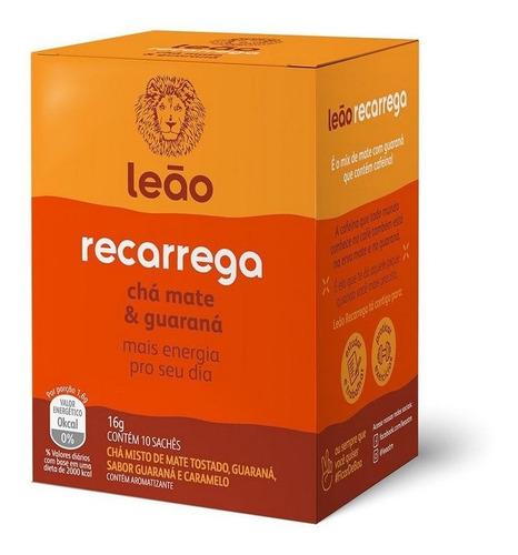 Chá Leão Funcionais - Recarrega 10 Saches