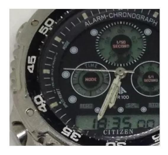 Relógio De Pulso Citizen 100m Masculino U01537 Webclock