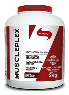 Muscle Plex 2kg - Hipercalórico - Vitafor