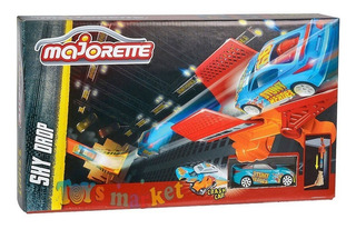 Majorette Pista De Autos Car Crash Stunt Heroes Sky Drop Tv