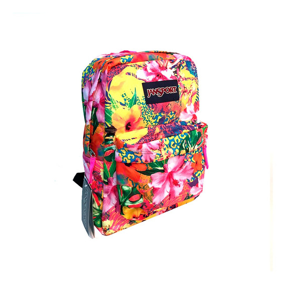 Mochila Jansport Super Break Tropical