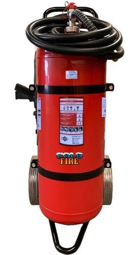 Imagen 1 de 4 de Extintor Profesional Cold Fire 50 Litros Color Rojo