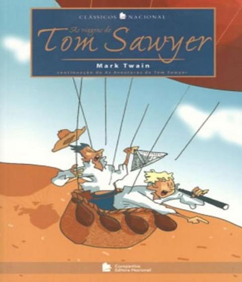 Livro Viagens De Tom Sawyer