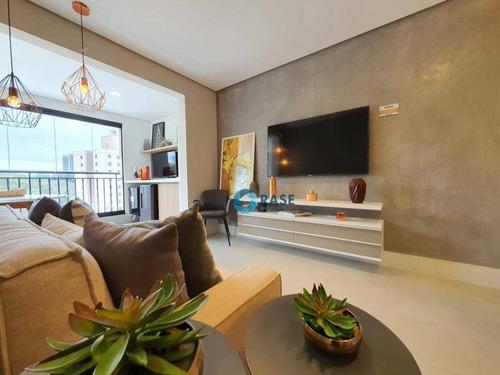 Apartamento À Venda, 65 M² Por R$ 473.000,00 - Jardim Ampliação - São Paulo/sp - Ap8020