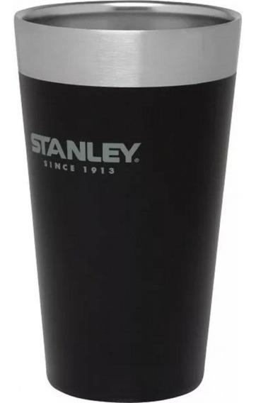 Vaso Térmico Stanley Adventure Pinta 473 Ml Negro