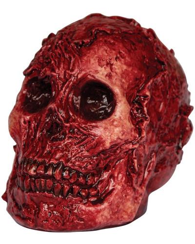 Imagen 1 de 1 de Decorativo De Látex Cráneo Sangriento Fleshy Skull Halloween