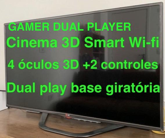 Tv 47 Cinema 3d Led Full Hd Lg 47 La6200 Smart Wi Fi