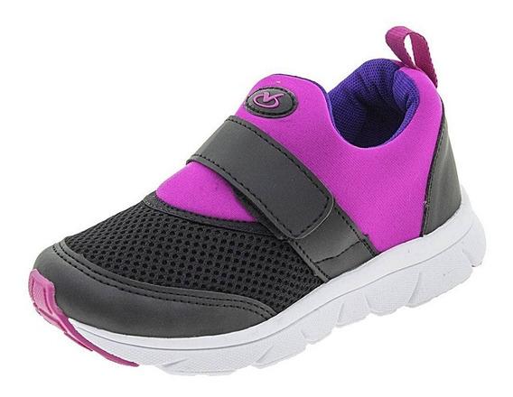 Tênis Infantil Via Vip Jogging Masculino E Feminino 25 Ao 34